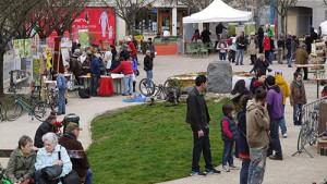 Vue générale de l'éco-festival 2013