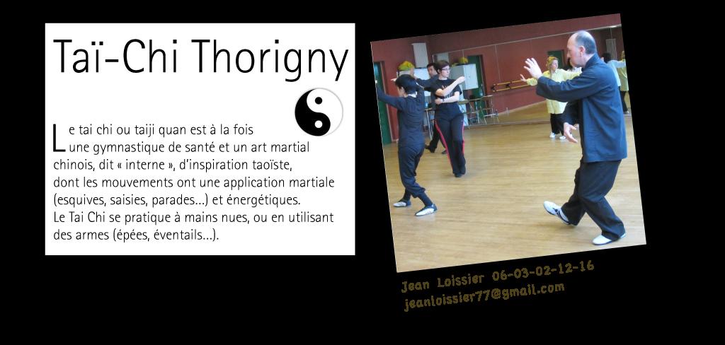 Taï-Chi Thorigny : pavé de présentation