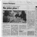 Article du journal La Marne