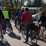 Rando-découverte à vélo, départ Saint-Thibault