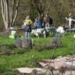 Visite du jardin partagé La Rhubarbinette