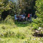 Pique-nique pendant l'éco-festival VAMG 2014