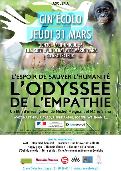 Affiche Film L'Odyssée de l'empathie