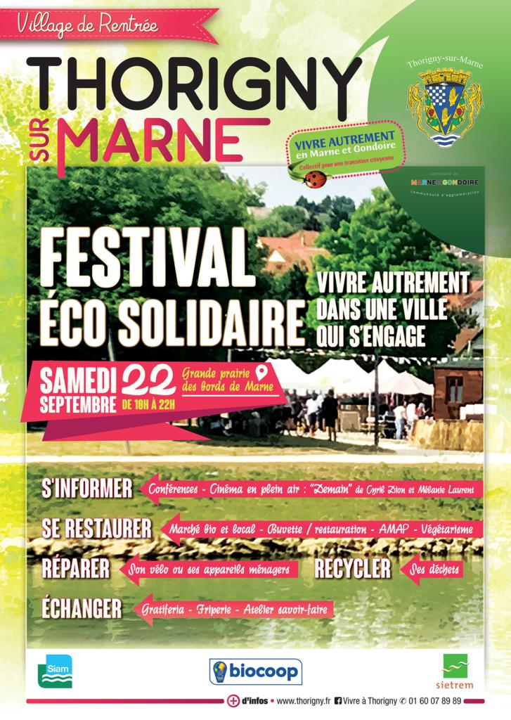 Affiche du Festival éco-solidaire