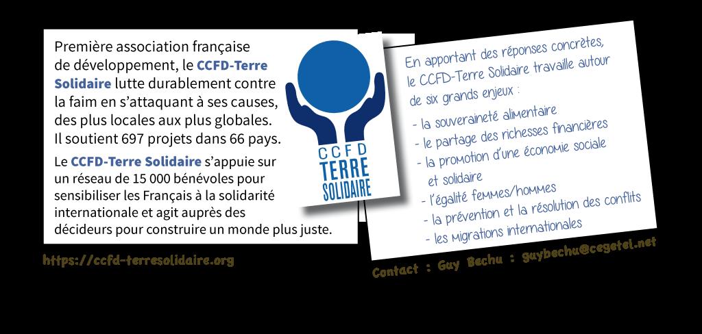Présentation CCFD - Terre solidaire